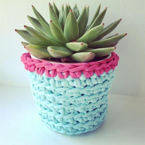 Learn to crochet a cute little pot 25/02/19