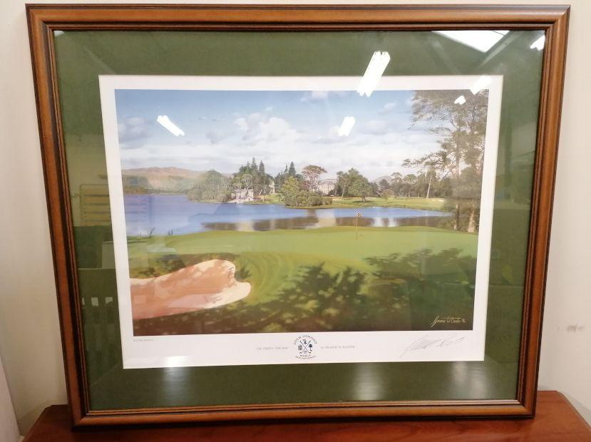 'They Bay' Loch Lomond Print