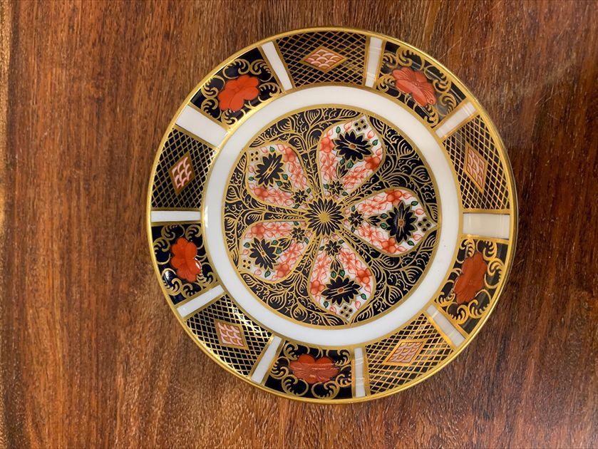 Royal Crown Derby English Bone China Trinket Dish