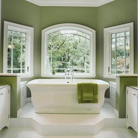 Autumn 2015 Room: Green-Bathroom-Ideas-3