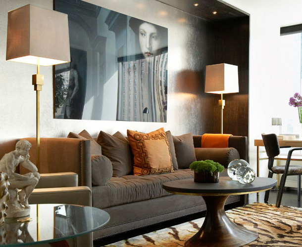 Autumn 2015 Room: Brown Sofa / Contemporary 2-David-Scott-sehpa