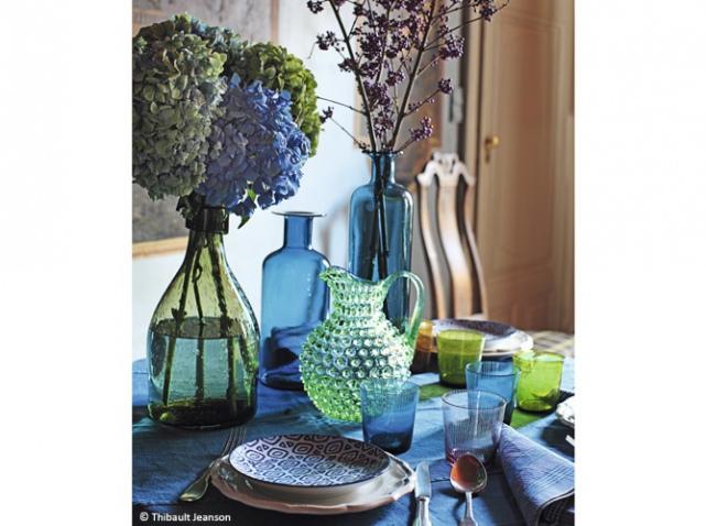 Autumn 2015 Deco: Blue/Green Table Deco Artdelatablebleuvert_w641h478