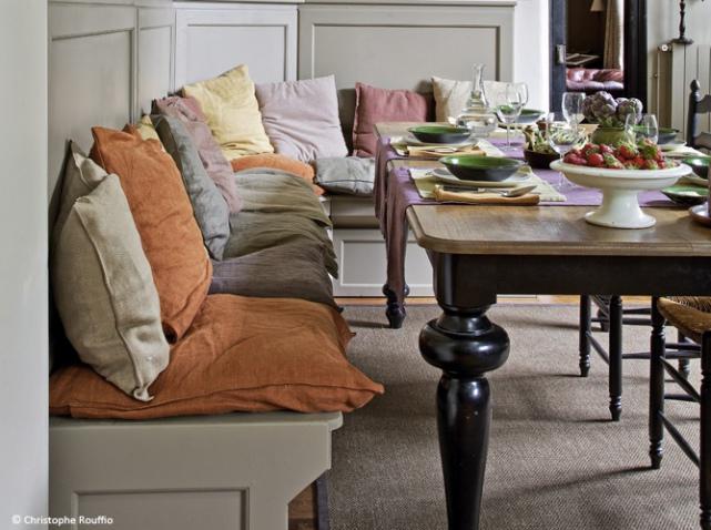 Table Avec Banc Cuisine Autumn Seating Area With Table Avec Banc - Table salle a manger avec banc pour idees de deco de cuisine