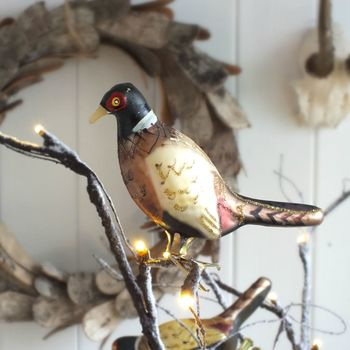 Christmas 15: 4 normal_pheasant-clip-decoration
