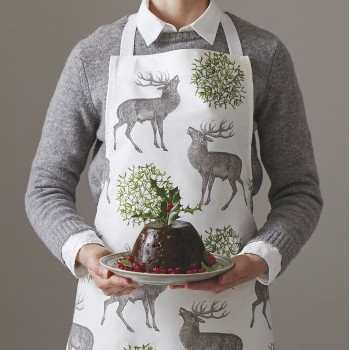 Christmas 15: 16 stag-mistletoe-apron