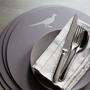Christmas 15: 63 preview_leather-pheasant-placemats