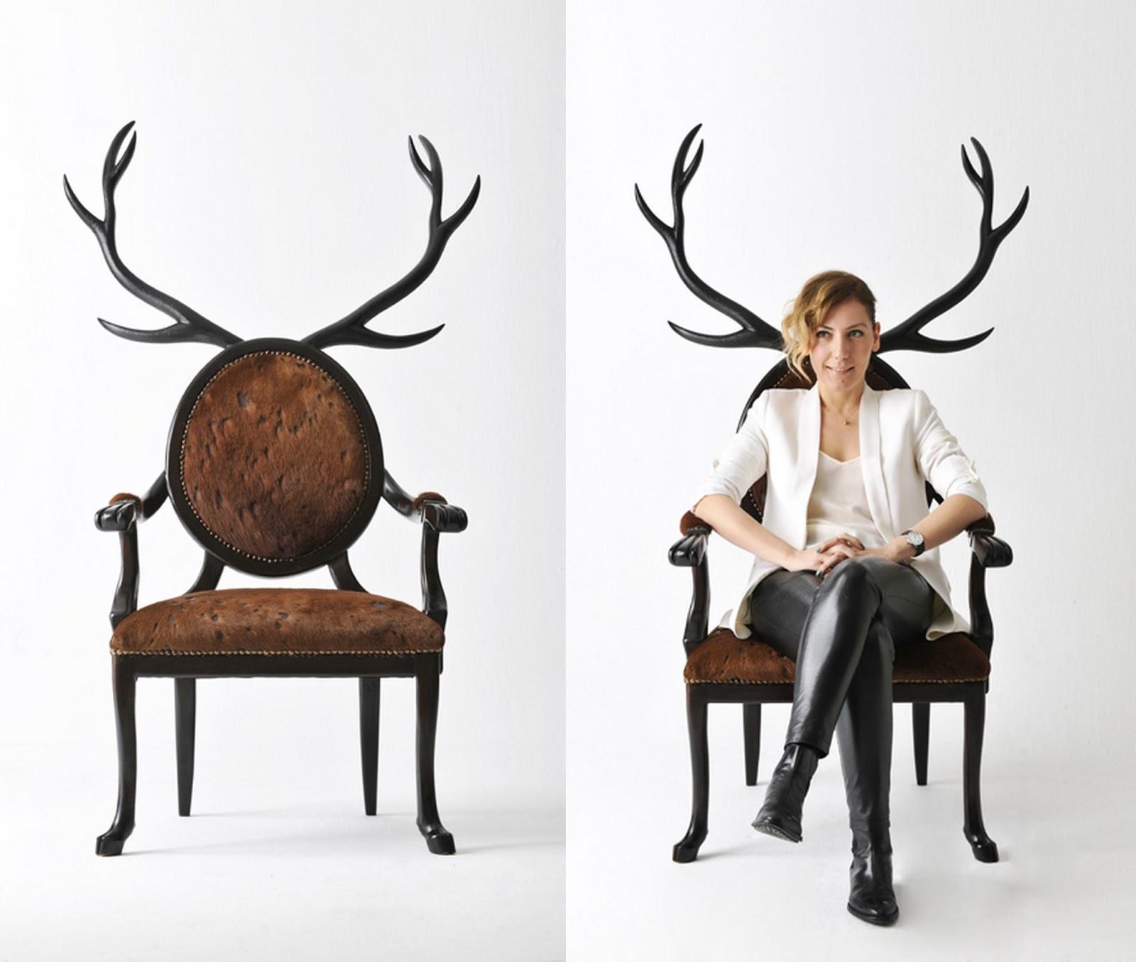 Christmas 2015: Merve-Kahraman-antler-hybrid-chair