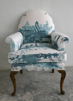 Summer 15: Turquoise toile chair 3965935