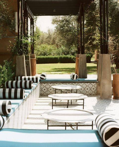 Summer 15 Room: Moorish outdoor seating area 10981218_10152850759853402_154