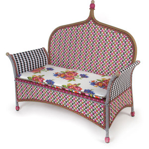 Summer 15: Blue/red quirky outdoor sofa 134473477