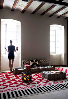 Summer 15: Morrish red rug catania_ls