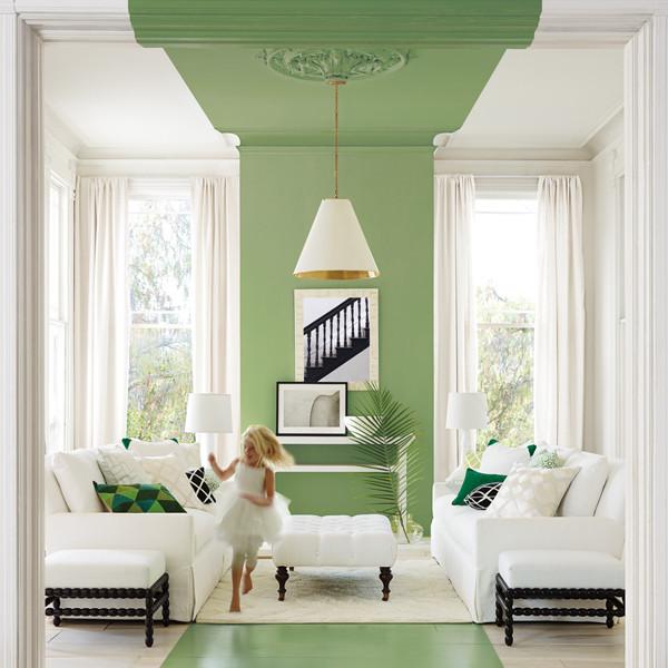 Summer 15 Room: Green/ivory room CCdjTtzQ4VRl