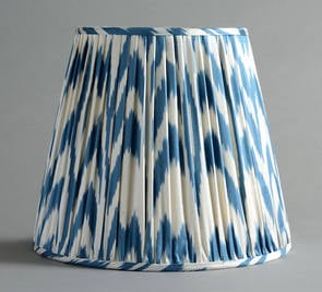 Summer 15: Blue Ikat Lampshade la_5660B_DERB_14