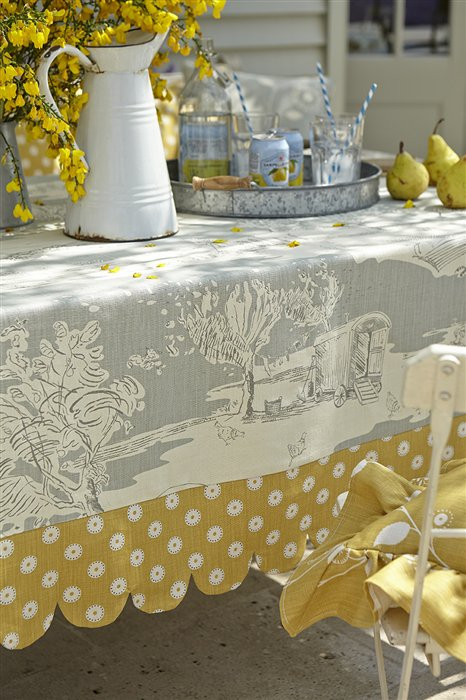 Summer 15: Toile table cloth Large-table