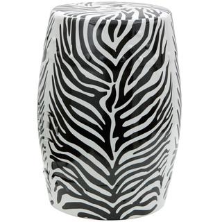 Summer 15: Zebra ceramic outdoor stool P15924497