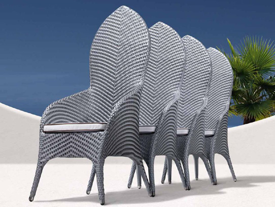 Summer 15: Outdoor anthrazit dining chairs palm01