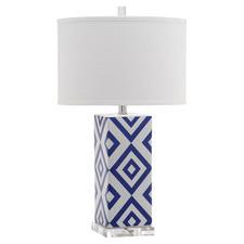 Summer 15: Blue/white geo table lamp 29