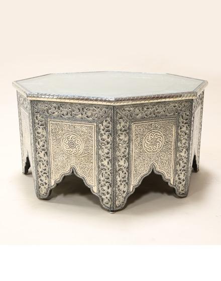 Summer 15: white-metal-octagonal-coffee-table-wmct-3-m2
