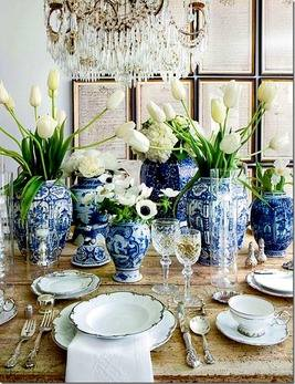 Summer 15: Blue vases on dining table image_thumb16