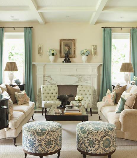 Summer 15 Room: Pastel Fabrics Spring Decor Interior Design Ideas Decorator
