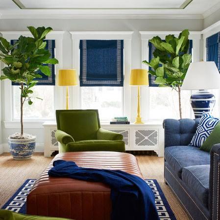 Summer 15/Room 1: Blue/Green leaf sitting room 10406497_10153000326403402_7
