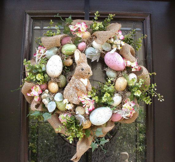 S16: 2 Easter-Bunny-Wreath-for-the-Front-Door