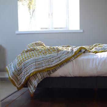 Summer 16: 100 normal_mustard-voile-cotton-quilt