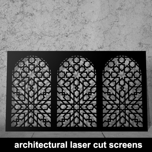 Summer 16: 106 architectural-laser-cut-screens
