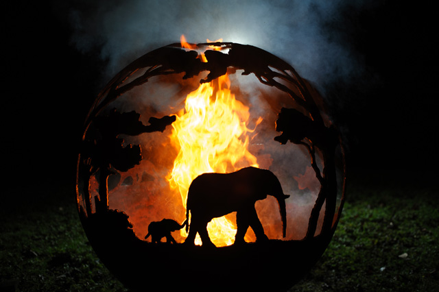 Africa The-Africa-Ball-The-Firepit-Company
