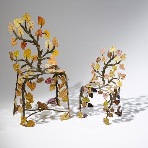 Autumn 16: 19 Chaise-sculpture-un-arbre-en-automne-Joy-de-Rohan-Chabot-
