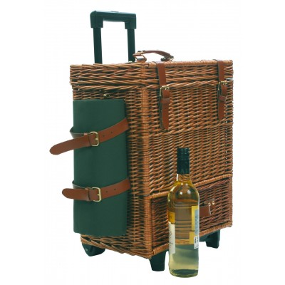 Summer 2017: Basket RY8058 handle hamper but green lid closed-400x400