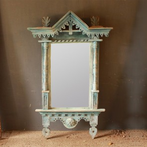 Christmas 17: 27 original_blue_painted_mirror_and_frame_main