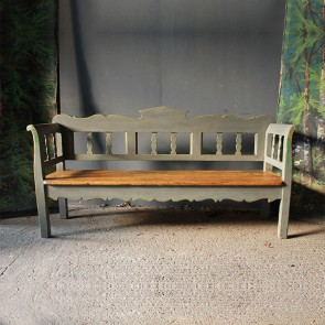 Christmas 17: 40 smart_antique_bench_in_pale_grey_main