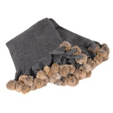 Christmas 17: 64 charcoal-throw-with-fur-pom-poms_4254-category
