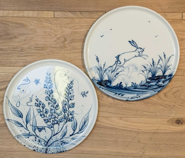Spring 18: 64 DSC00448_Mia_Sarosi_Decorative_Porcelain_Plates