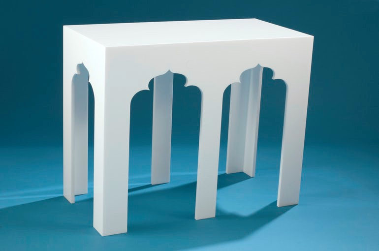 Summer 18: 40 white-webb-clearly-classic™-double-alexander-console-tabl