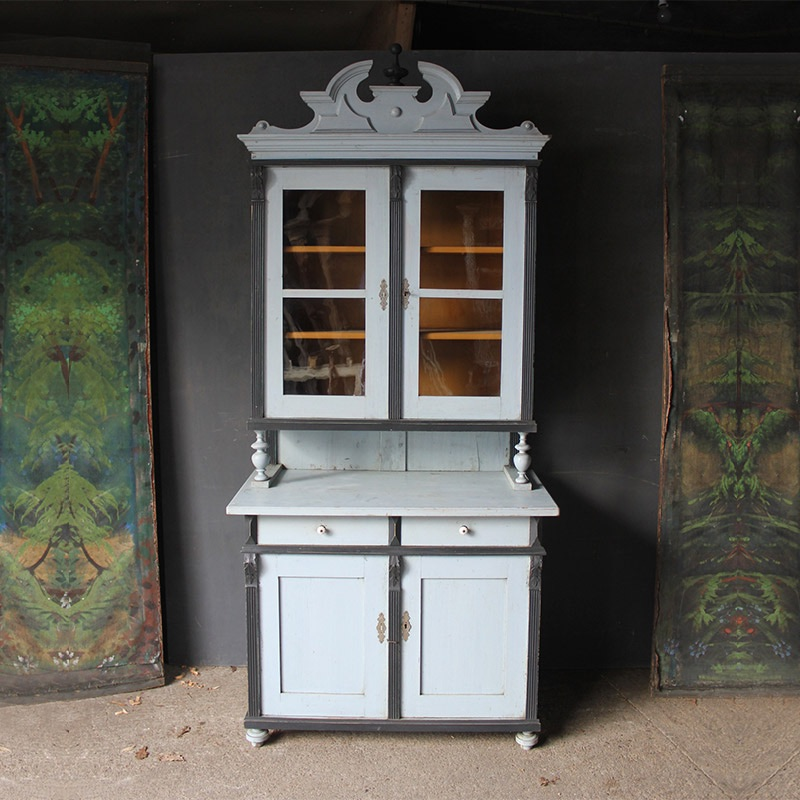 Summer 18: 35 tall-decorative-dresser-in-original-pale-blue-9-1