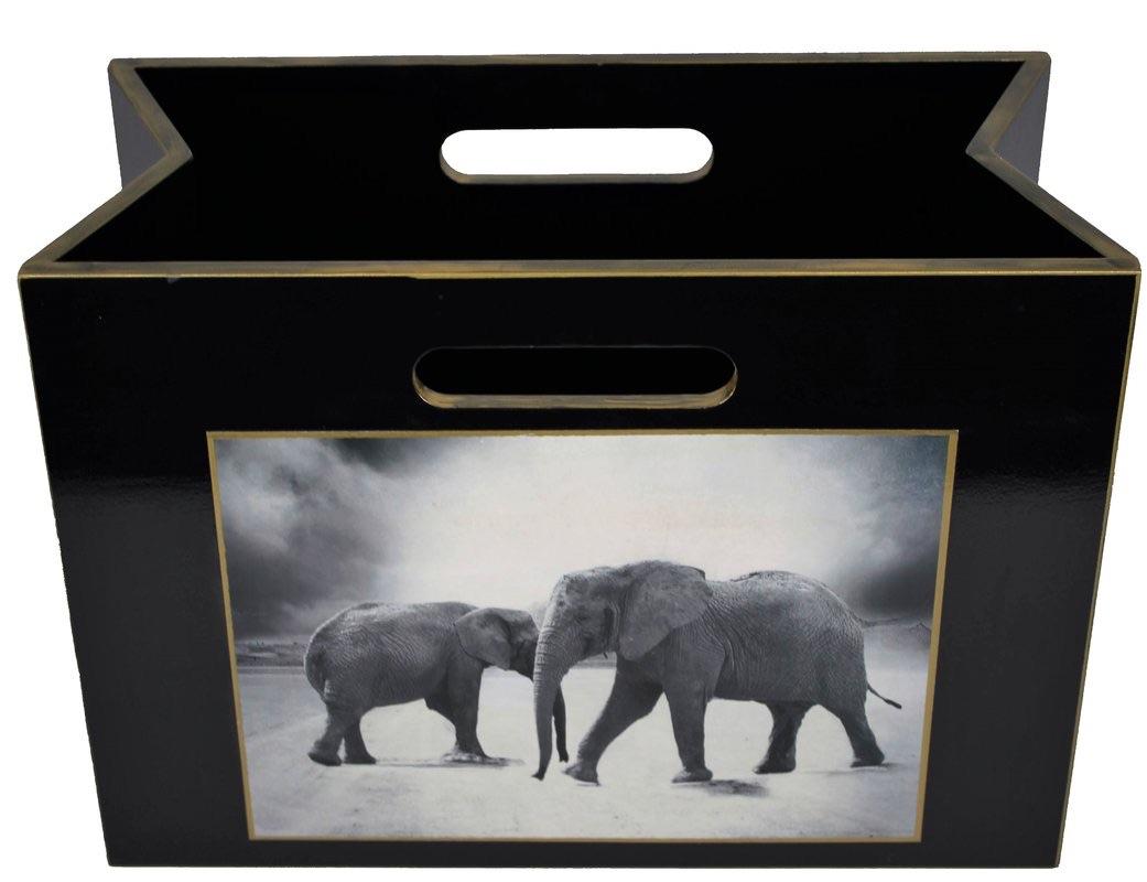 Summer 18: 111 Two+Elephants+Magazine+Rack