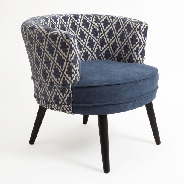 Summer 18: 57 fauteuil-cabriolet-en-tissu-toucher-doux-bleu-dossier-moti