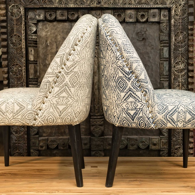 Summer 18: 119 Indian_Print_Upholstered_Dining_Chairs_DSC00889_Edit