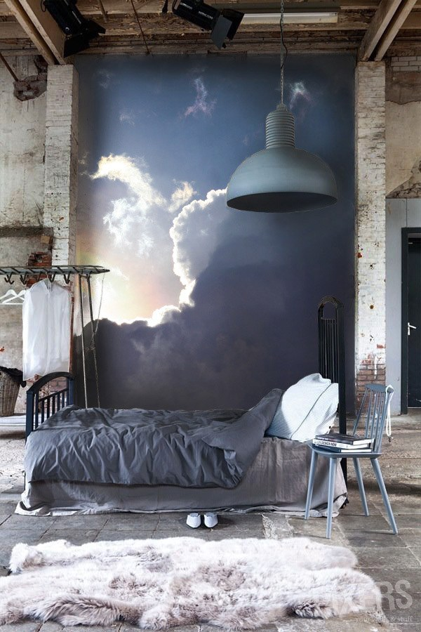 christmas 18: 5 clouds-inspiring-wall-mural
