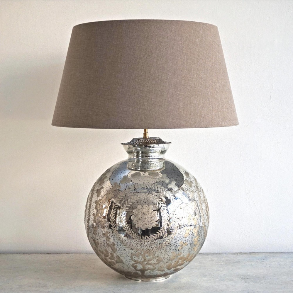 christmas 18: 81 large-silvered-mercury-glass-table-lamps_10145_main_siz