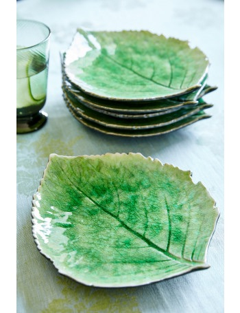 Easter 19: 56 hydrangea-leaf-plates-set-of-six-92b