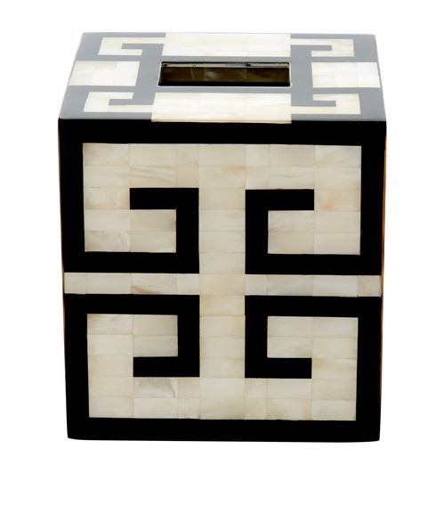 Easter 19: 77 greek-key-tissue-box_000000000005553168