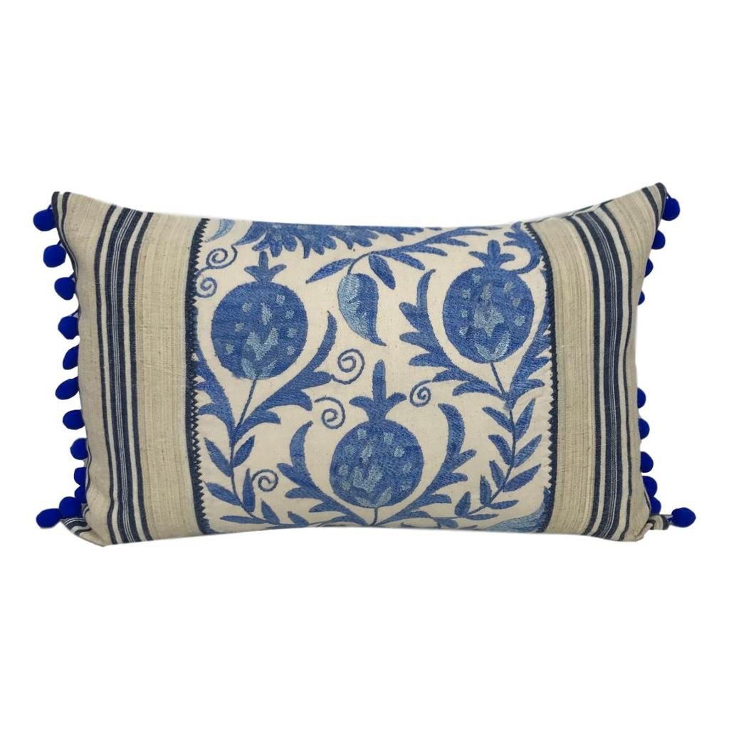 Summer 19: 20 Suzani_ikat_blue_with_pompoms_clipped_rev_1_1024x1024