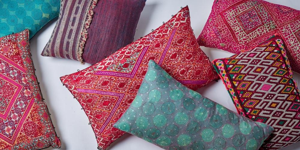 Summer 19: 37 cushions