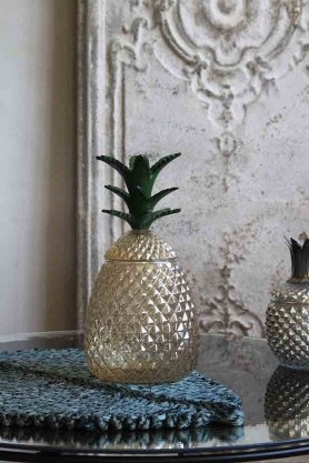 Christmas 19: 8 large_beautiful_glass_pineapple_storage_jar_web_1