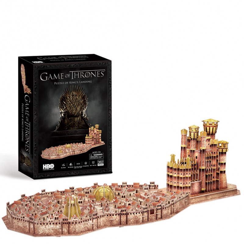 Christmas 19: 47 games-of-thrones-king-s-landing-3d-puzzle