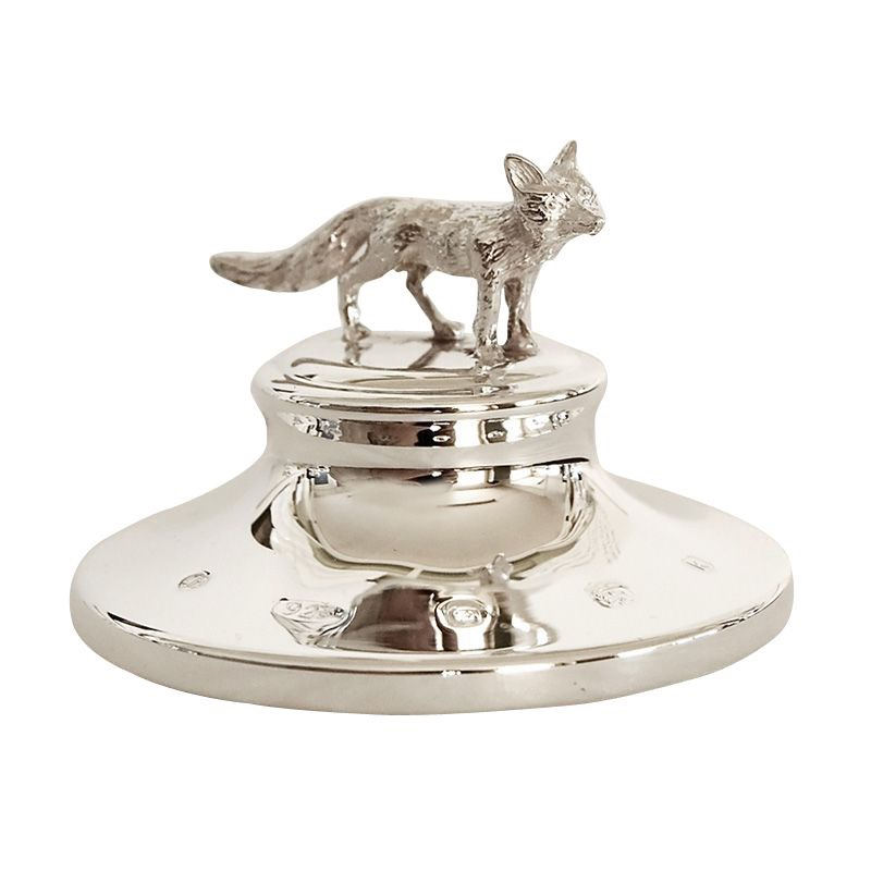 C 19: silver-fox-paperweight1