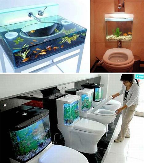 Nautic: Aquarium-Bathroom